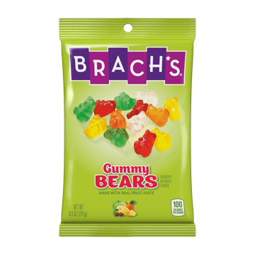Brach's Gummy Bears Candy Bag