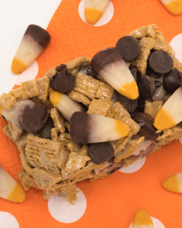 Brach's S'mores Candy Corn Bars Recipe