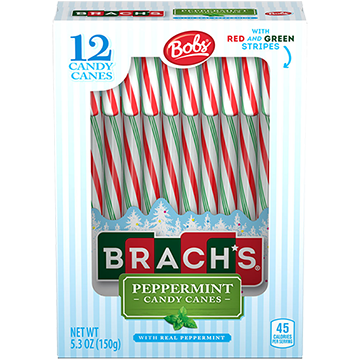 Peppermint Red & Green Canes