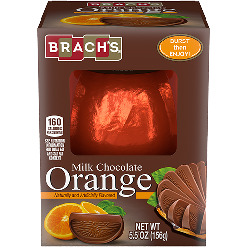 Fruit Burst Milk Chocolate Orange Ball
