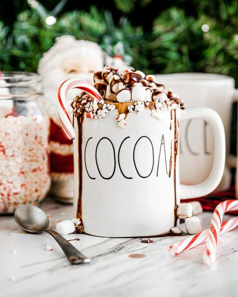 Brach's Easy Hot Chocolate Recipe with Candy Canes