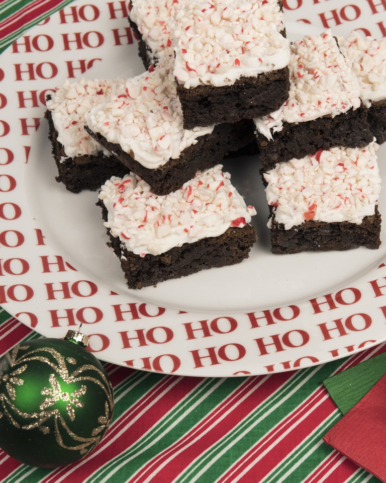 Brach's Double Peppermint Brownies