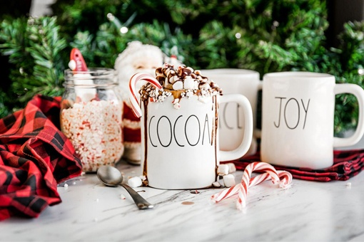 Easy Hot Chocolate Recipe with Candy Canes