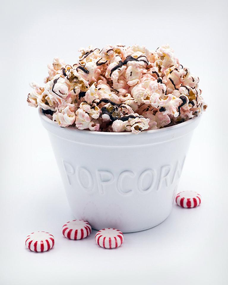 Brach's® Peppermint Popcorn with Chocolate Drizzle