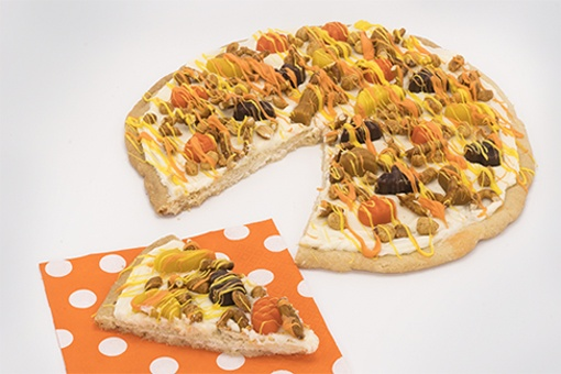 Scary Shapes Mellowcremes Halloween Pizza