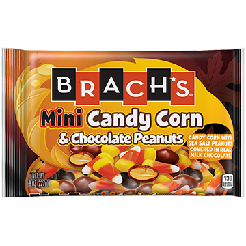 /Mini Candy Corn and Sea Salt Chocolate Peanuts, 8 oz