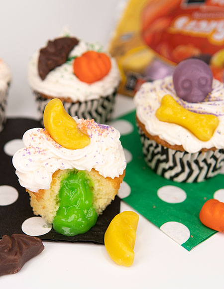 Brach's Scary Shapes Cupcakes
