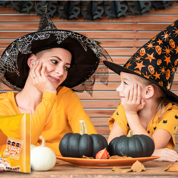 Halloween moments with Brach's candy