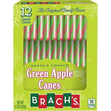 Green Apple Canes