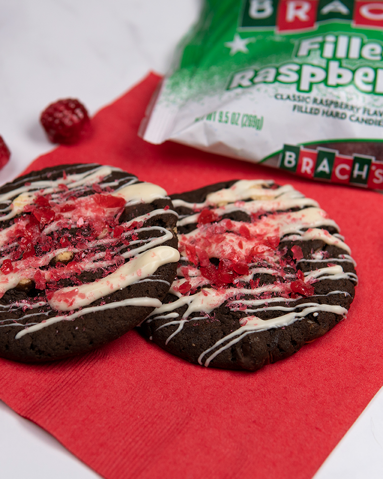 Brach's Raspberry Brownie Cookies