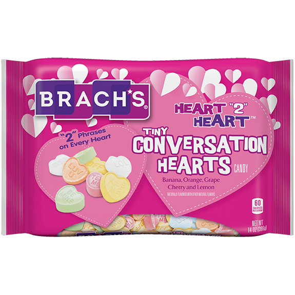 Heart 2 Heart Conversation Hearts, 30oz